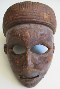 Mask from Nigeria, not the Congo