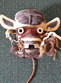 Some African masks are scary