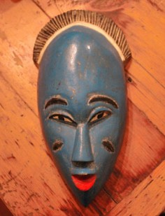 Beautiful West African mask