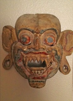 Is this Balinese mask old?