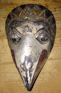 Bird mask from Indonesia
