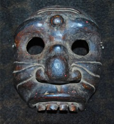 Old half-mask from Bali