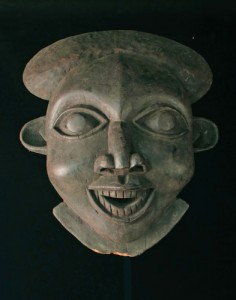 Well-known African mask