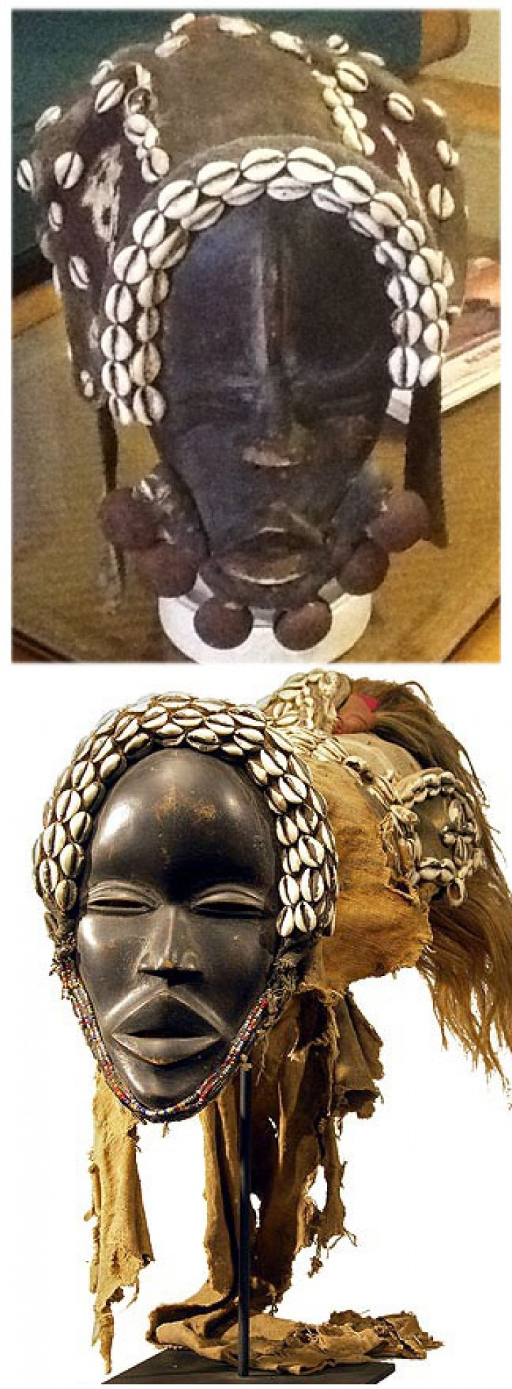 The price of African masks
