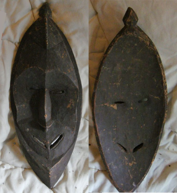 New Guinea mask