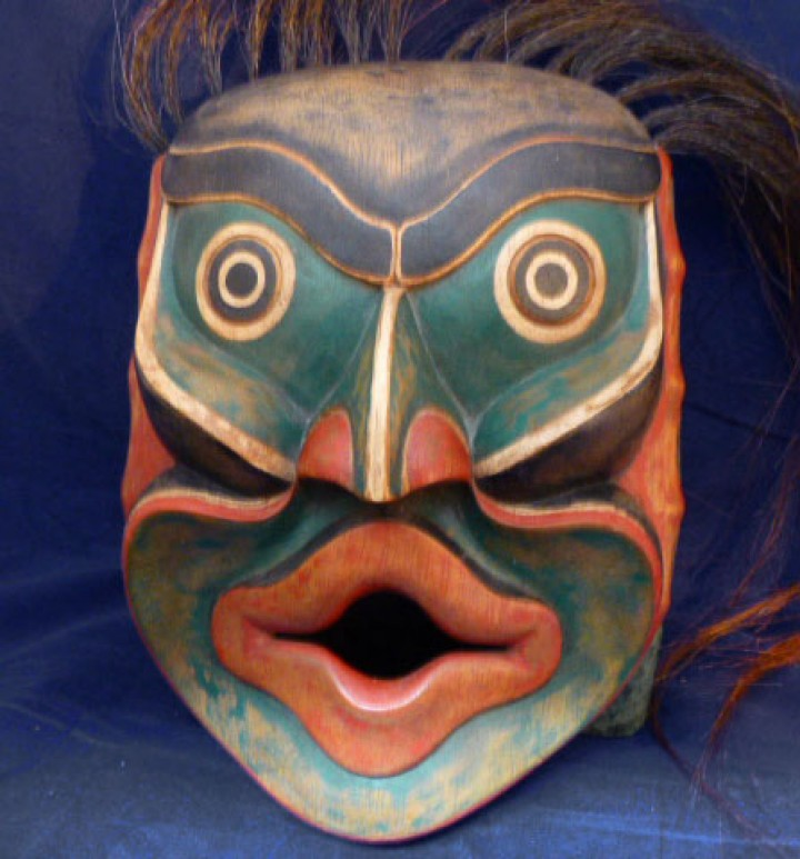 Northwest Coast mask repro