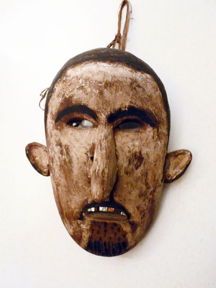 Iban mask from Borneo