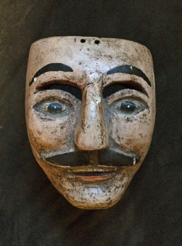 Very old mask? Maybe.