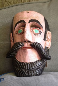 Classic Mexican Moor mask