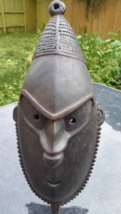 Excellent mask from New Guinea