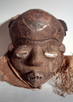 Mbuya mask from the DRC