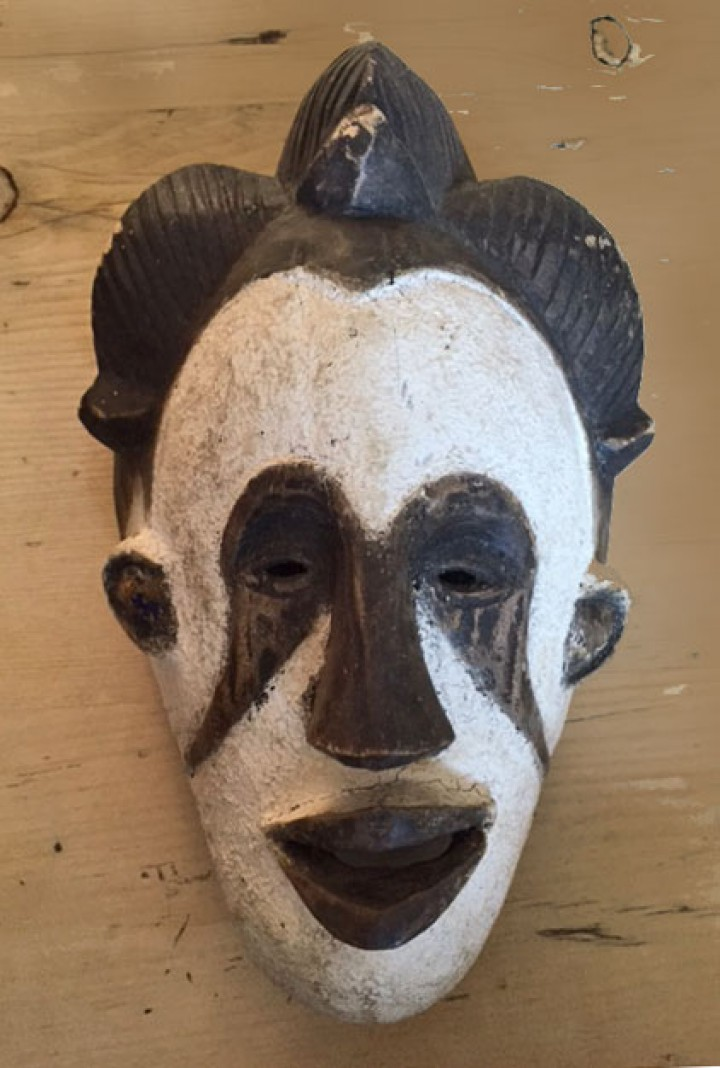 Maiden Spirit mask from the Igbo