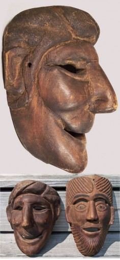 Nicely sculpted Guatemalan mask