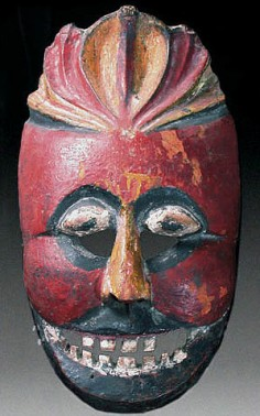 Early Balinese mask
