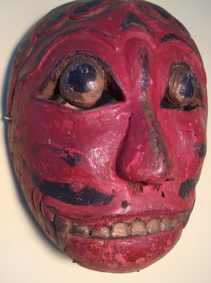 Another old mask from Bali