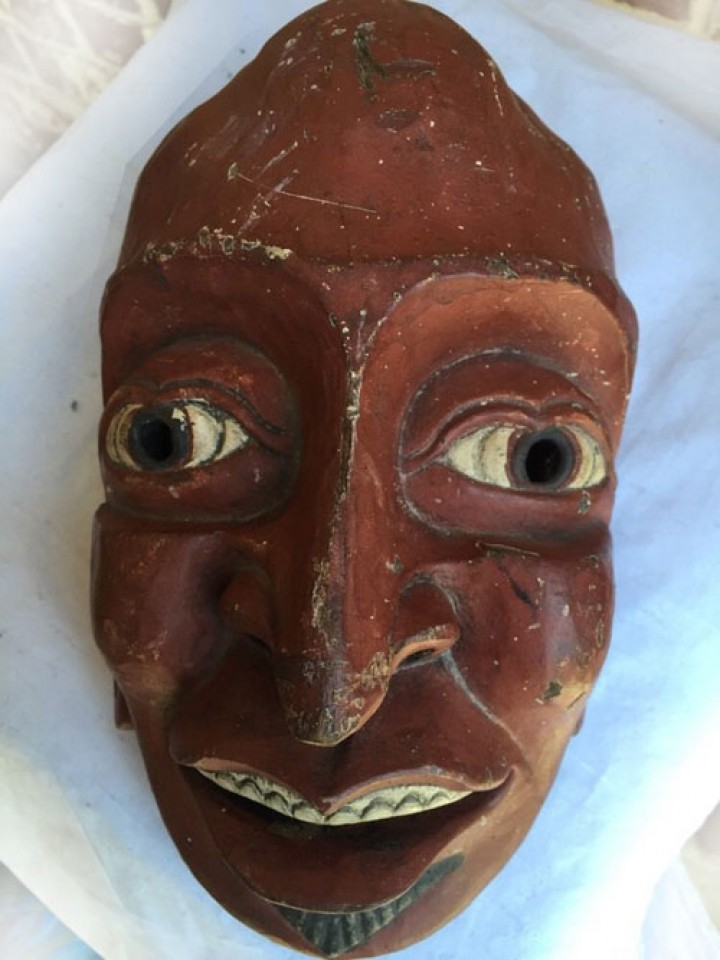 Mask from somewhere in India