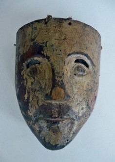 Typical, old Mexican mask