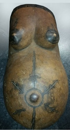 Makonde breast plate