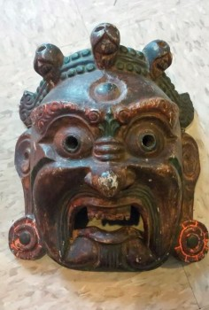 Mahakala mask from Nepal