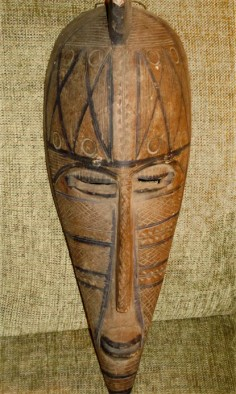 Unusual Bambara mask from Mali