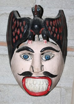 Rare Mexican performance mask