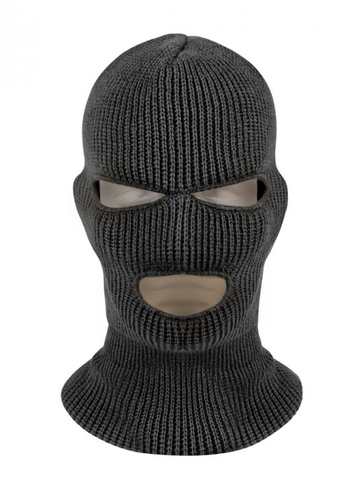 The balaclava can be scary