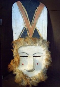 South American Indian mask