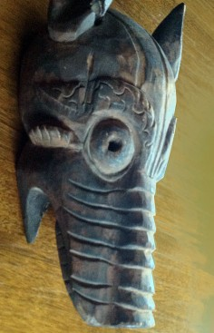Animal mask from Nepal
