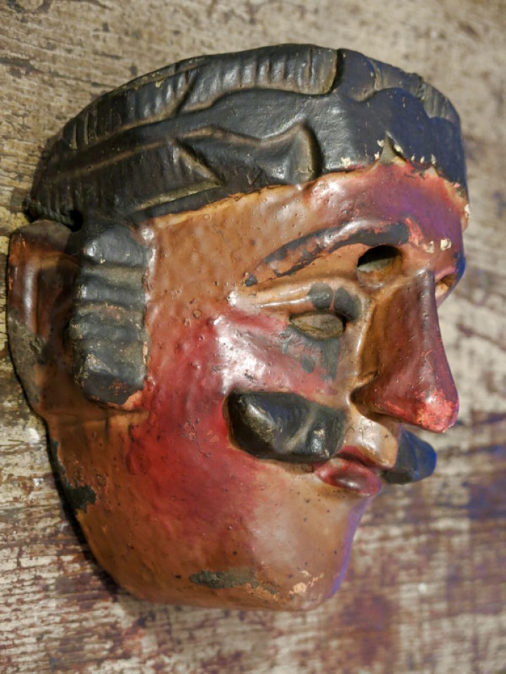 Very old Guatemalan mask