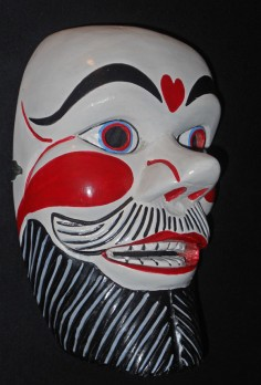Payaso mask from the mountains of Ecuador