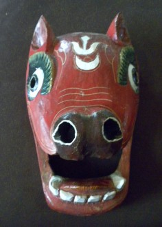 Animal mask from Himalayas