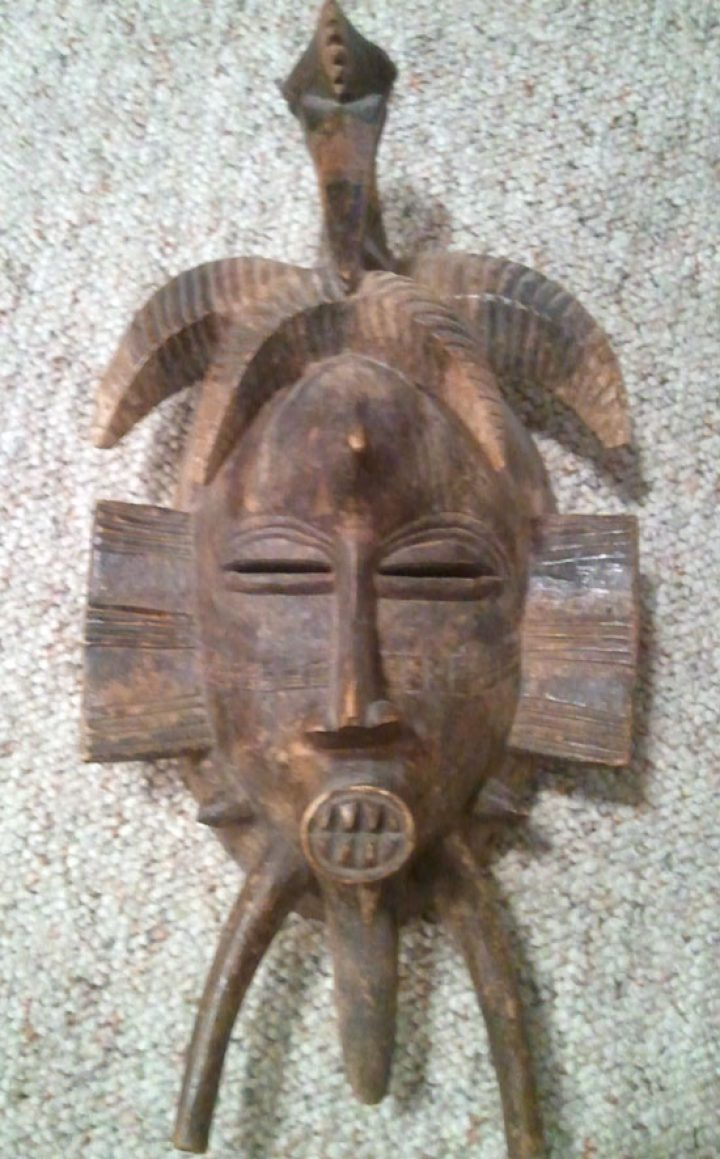 Another Senufo Kpelie mask