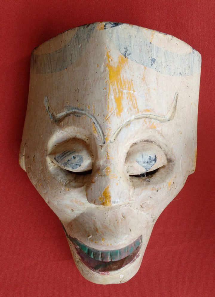 Strange Mexican mask