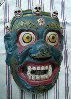 Colorful Mahakala from the Himalayas