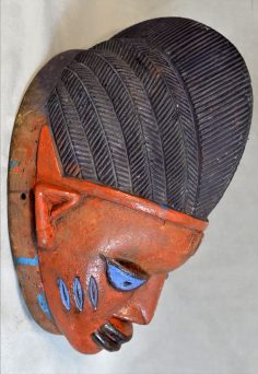 Excellent Gelede mask from Nigeria