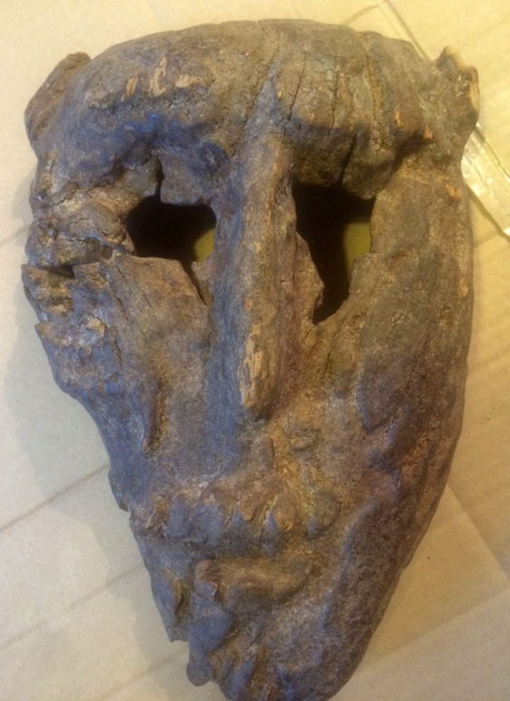 Old Mexican mask?