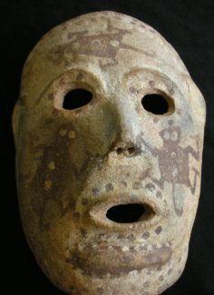 Mudman mask from PNG