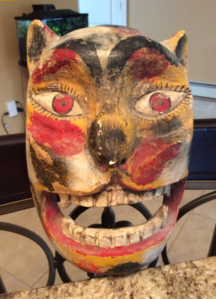 Tigre mask from Mexico